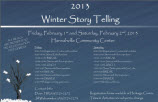 2013 Winter Storytelling